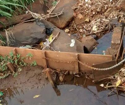 Cai ainda mais a captação de água para ETA retirada do Córrego São Joaquim