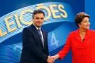 Em último debate Aécio usa Petrobrás e Dilma, a crise hídrica