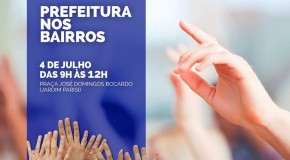 "Próximo ""Prefeitura nos bairros"" será realizado no Jardim Parisi"
