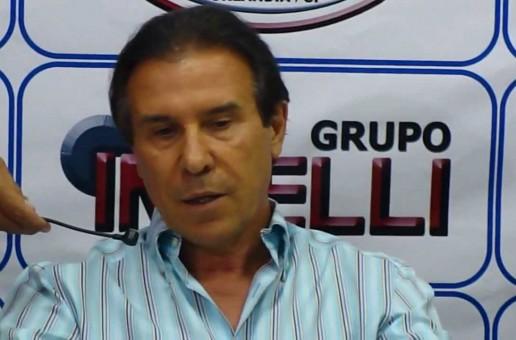Vincenzo Spedicato quer construir um ginásio próprio