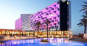 S11  ARQUIVO  25-12-2017 CADERNO2 / CADERNO DOIS / C2  Hard Rock Hotel na cidade de Ibiza, na Espanha; rede vai abrir primeiros projetos no Brasil Crédito: Hard Rock Hotel/Misasi