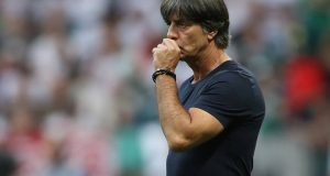 Soccer Football - World Cup - Group F - Germany vs Mexico - Luzhniki Stadium, Moscow, Russia - June 17, 2018   Germany coach Joachim Low during the match   REUTERS/Carl Recine