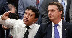 DF - JAIR BOLSONARO / FILIAÇÃO AO PSL - POLÍTICA - O senador Magno Malta em cerimônia de mudança de partido do presidenciável Jair Bolsonaro. A partir de agora, Bolsonaro faz parte do Partido Socialista Liberal (PSL). Nesta quarta-feira (07), na câmara do deputados, em Brasília. 07/03/2018 - Foto: WALTERSON ROSA/FRAMEPHOTO
