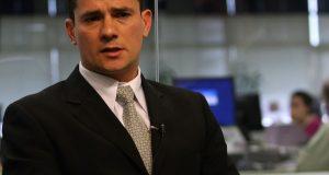 """Brasil, S""""o Paulo, SP, 11/09/2008. SÈrgio Fernando Moro, juiz federal durante entrevista ·  TV Estad""""o. - CrÈdito:J. F. DIORIO/ESTAD√O CONTE⁄DO/AE/Codigo imagem:107084"""