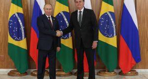 (Brasília - DF, 14/11/2019) Encontro com o Presidente da Federação da Rússia, Vladmir Putin.nFoto: Marcos Corrêa/PR