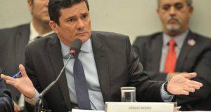 O ministro da Justica e Seguranca Publica, Sergio Moro, durante audiencia publica na Comissao de Constituicao e Justica (CCJ) da Camara dos Deputados. (O ministro da Justica e Seguranca Publica, Sergio Moro, durante audiencia publica na