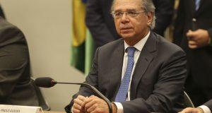 O ministro da Economia, Paulo Guedes, na Comissão de Constituição e Justiça (CCJ) da Câmara, debate a reforma da Previdência (PEC 6/19).