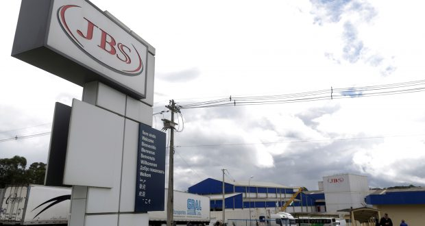 General view of Brazilian meatpacker JBS SA in the city of Lapa, Parana state, Brazil, March 21, 2017. Picture taken March 21, 2017. REUTERS/Ueslei Marcelino