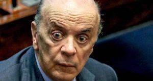 BRASÍLIA,DF,28.09.2017:SENADO-AFASTAMENTO-AÉCIO - O senador José Serra durante sessão plenária do Senado, em Brasília (DF), nesta quinta-feira (28), que discute a decisão do Supremo Tribunal Federal de afastar o senador Aécio Neves (PSDB-MG). (Foto: Fátima Meira/Futura Press/Folhapress)